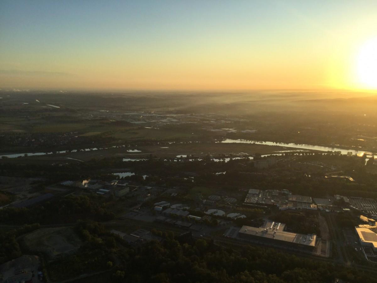 Heteluchtballonvaart Maastricht - Magnifieke ballon vaart in de omgeving van Maastricht