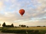 Professionele ballon vaart opgestegen op startlocatie Beesd zaterdag 16 juni 2018