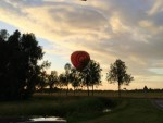 Grandioze ballon vlucht opgestegen in Beesd zaterdag 16 juni 2018
