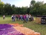 Prachtige ballon vaart opgestegen op startlocatie Beesd zaterdag 16 juni 2018