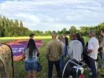 Perfecte luchtballon vaart vanaf startlocatie Beesd zaterdag 16 juni 2018