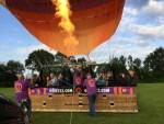 Prachtige heteluchtballonvaart gestart op opstijglocatie Rijsbergen zaterdag 16 juni 2018