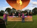 Schitterende luchtballon vaart vanaf startlocatie Rijsbergen zaterdag 16 juni 2018