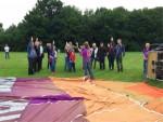 Comfortabele heteluchtballonvaart opgestegen op startveld Wijchen zaterdag 16 juni 2018