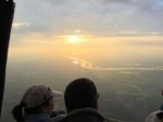 Comfortabele luchtballonvaart startlocatie Wijchen zaterdag 16 juni 2018