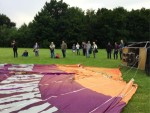 Majestueuze luchtballonvaart opgestegen op opstijglocatie Wijchen zaterdag 16 juni 2018