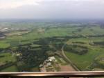 Heerlijke luchtballonvaart in de omgeving Zwolle zaterdag 16 juni 2018