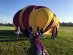 Indrukwekkende ballonvlucht in Enschede op zaterdag 18 augustus 2018
