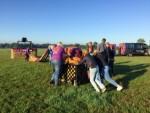 Onovertroffen ballonvlucht in de omgeving van Enschede op zaterdag 18 augustus 2018