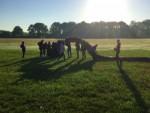 Weergaloze ballonvlucht startlocatie Enschede op zaterdag 18 augustus 2018