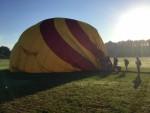 Perfecte ballon vaart in Enschede op zaterdag 18 augustus 2018