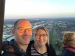 Buitengewone ballonvaart gestart in Enschede op zaterdag 18 augustus 2018
