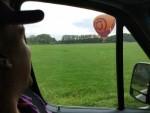 Mooie ballonvaart gestart op opstijglocatie Hoogland op zaterdag 18 augustus 2018