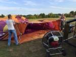 Hoogstaande ballonvaart vanaf opstijglocatie Horst op zaterdag 18 augustus 2018