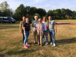Geweldige ballonvlucht vanaf opstijglocatie Horst op zaterdag 18 augustus 2018