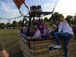 Schitterende luchtballon vaart opgestegen in Horst op zaterdag 18 augustus 2018