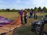 Majestueuze luchtballonvaart startlocatie Horst op zaterdag 18 augustus 2018