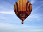 Magnifieke luchtballon vaart over de regio Horst op zaterdag 18 augustus 2018