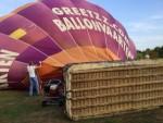 Fenomenale luchtballon vaart startlocatie Horst op zaterdag 18 augustus 2018