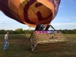 Super ballonvlucht gestart op opstijglocatie Horst op zaterdag 18 augustus 2018
