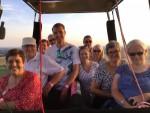 Exceptionele heteluchtballonvaart vanaf startlocatie Maastricht op zaterdag 18 augustus 2018