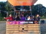 Fenomenale luchtballonvaart over de regio Tilburg op zaterdag 18 augustus 2018
