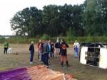 Fenomenale heteluchtballonvaart opgestegen op startlocatie Tilburg op zaterdag 18 augustus 2018