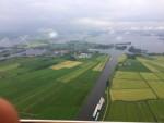 Magische heteluchtballonvaart startlocatie Akkrum zaterdag 19 mei 2018