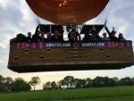 Ongeëvenaarde heteluchtballonvaart in de omgeving Akkrum zaterdag 19 mei 2018