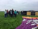 Majestueuze ballonvlucht opgestegen op startlocatie Akkrum zaterdag 19 mei 2018