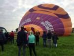 Super heteluchtballonvaart boven de regio Akkrum zaterdag 19 mei 2018