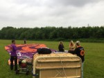 Exceptionele ballonvlucht vanaf opstijglocatie Beesd zaterdag 19 mei 2018