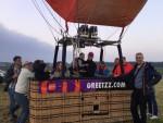 Professionele ballon vlucht gestart op opstijglocatie Etten-leur zaterdag 19 mei 2018