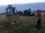 Betoverende luchtballon vaart in de omgeving Etten-leur zaterdag 19 mei 2018