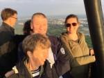 Plezierige ballonvaart vanaf opstijglocatie Hengelo zaterdag 19 mei 2018