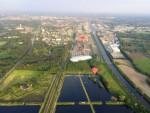 Hoogstaande ballonvlucht gestart op opstijglocatie Hengelo zaterdag 19 mei 2018