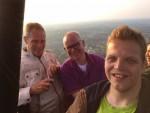 Ongekende ballon vaart gestart in Hengelo zaterdag 19 mei 2018
