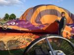 Magische ballonvaart opgestegen op opstijglocatie Nederweert zaterdag 19 mei 2018