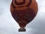 Verrassende luchtballon vaart opgestegen op startlocatie Veenendaal zaterdag 19 mei 2018