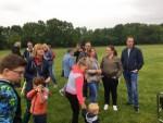 Professionele heteluchtballonvaart gestart in Veenendaal zaterdag 19 mei 2018