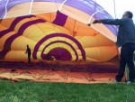 Te gekke ballonvlucht gestart in Veenendaal zaterdag 19 mei 2018