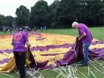 Indrukwekkende heteluchtballonvaart opgestegen op opstijglocatie Oss zaterdag  2 juni 2018