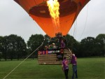 Perfecte ballon vlucht over de regio Oss zaterdag 2 juni 2018