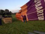 Ongeëvenaarde heteluchtballonvaart gestart in Hoogland op zaterdag 20 oktober 2018