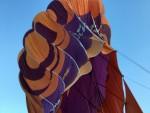 Meesterlijke luchtballon vaart startlocatie Hoogland op zaterdag 20 oktober 2018