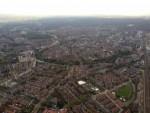 Waanzinnige heteluchtballonvaart in de omgeving van Hoogland op zaterdag 20 oktober 2018