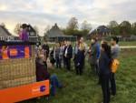 Heerlijke ballon vaart in de regio Hoogland op zaterdag 20 oktober 2018