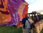 Fascinerende heteluchtballonvaart omgeving Hoogland op zaterdag 20 oktober 2018