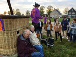 Fantastische heteluchtballonvaart gestart in Hoogland op zaterdag 20 oktober 2018