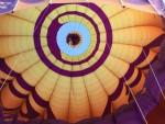 Jaloersmakende ballonvlucht opgestegen op opstijglocatie Hoogland op zaterdag 20 oktober 2018